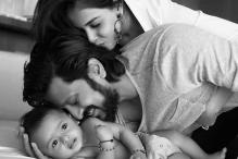 On Vilasrao Deshmukh's 70th birth anniversary, Riteish Deshmukh shares adorable pictures of his six-month-old son Riaan