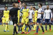 Chelsea slump to 3-0 loss against West Brom in EPL