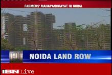 Farmers hold maha panchayat in protest against SC's order of upholding land acquisitions in Noida Extension