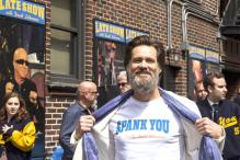 Here's what Jim Carrey, Tina Fey, Jerry Seinfeld did while David Letterman recorded last 'Late Show'