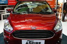 Photos: The upcoming Ford Figo Aspire compact sedan
