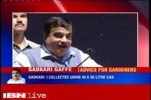 Nitin Gadkari claims he waters plants in his Delhi bungalow with his urine