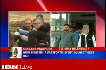 Passport the right of every Indian, will look into Geelani's application: Home Ministry