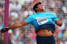 Discus thrower Vikas Gowda wins gold in Jamaican International Invitation meet
