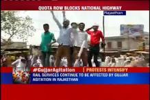 Gujjars intensify stir, block Jaipur-Agra highway