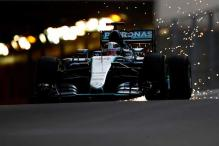 Lewis Hamilton posts fastest time in 1st practice at Monaco Grand Prix