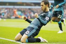 Eden Hazard doubles up with Footballer of the Year honour