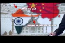 China's state run CCTV shows India's map without J&K and Arunachal Pradesh