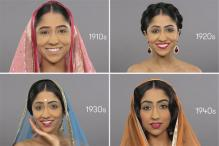 Watch how the beautiful Indian woman has evolved over a hundred years