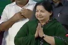 AIADMK chief Jayalalithaa takes oath as Tamil Nadu Chief Minister for the fifth time