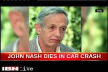 US: Mathematician John Nash, wife die in car crash in New Jersey