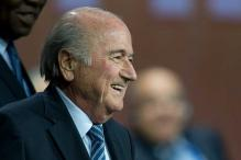Asia football chief hails Sepp Blatter re-election as FIFA head