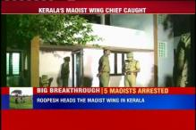 Top Maoist leader, 5 others arrested in Kerala