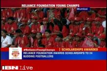 24 budding footballers awarded Reliance Young Champs scholarship