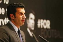 Luis Figo pulls out of FIFA presidential race