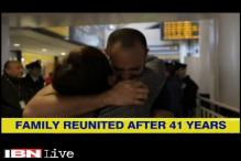 Chile: Man reunites with his mother after 41 years