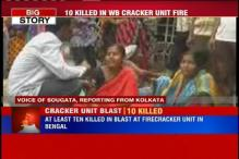 West Bengal: 10 feared dead in blast at an illegal firecracker manufacturing unit in West Midnapore