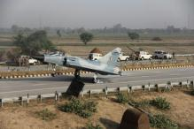IAF tests Yamuna Expressway's usability as a runway, lands Mirage-2000 fighter jet on it