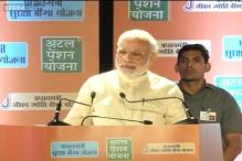 PM Modi launches 3 mega social security schemes, says they are meant to empower the poor