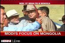 Watch: PM Modi expands Indo-Mongolian ties