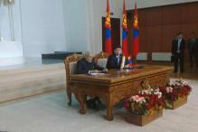 India signs 14 agreements, announces credit line of $1 billion to Mongolia