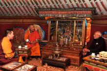 Narendra Modi visits Gandan monastery in Mongolia