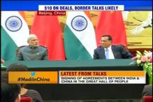 India, China sign record 24 key agreements worth $10 billion