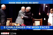 Modi government stares at major challenges even after one year in power