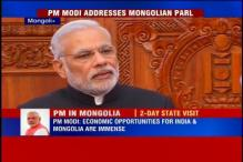 Narendra Modi discovers 'special connection' with Mongolian Parliament
