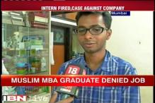 Mumbai MBA graduate denied job for being a muslim