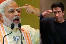 Is there a little bit of Ross Geller inside PM Narendra Modi?