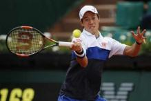 Nishikori books second-round spot in Paris