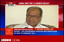 UPA government initiated implementation of OROP in February 2014, says AK Antony