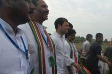 Rahul Gandhi kicks off padyatra from Telangana village, meets farmers