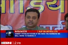 Will scrap Article 370 in J&K when we have a majority in Parliament: BJP
