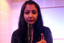 Young poet speaks of a world in a parallel universe where men are leched at by women