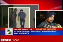 Bengal minister's removal sought for making guard tie shoelace