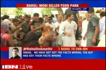Centre hits back at Rahul Gandhi over food park in Amethi, shows a denial letter from UPA government