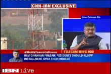 No danger of radiation from cellphone towers, says Ravi Shankar Prasad