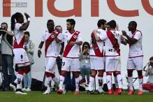 Rayo Vallecano beat Getafe 2-0 in Spanish league Madrid derby