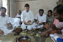 Kerala: Rahul Gandhi enjoys 'tasty fish' lunch at fisherman's house