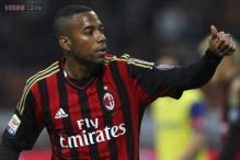 Brazilian footballer Robinho rescinds AC Milan contract