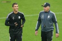 Real Madrid's players rally round sacked coach Carlo Ancelotti
