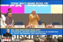 RSS affiliate questions NDA's decision to include 51% FDI in multi-brand retail
