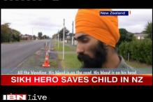 New Zealand: Harman Singh being hailed as hero after he removed his turban to bandage injured child