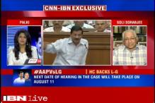L-G not bound to accept Delhi government's proposals: Soli Sorabjee
