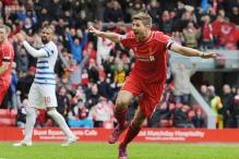 Steven Gerrard heads Liverpool to 2-1 win vs QPR in Premier League