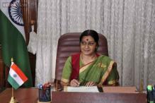 Sushma Swaraj's Twitter hotline