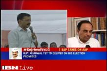 Arvind Kejriwal not sincere about anything: Subramanian Swamy