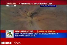 West Bengal: TMC factions clash over inauguration of a party office in Asansol, 4 injured